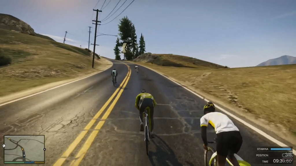 Grand Theft Auto V Gameplay Analysis bike