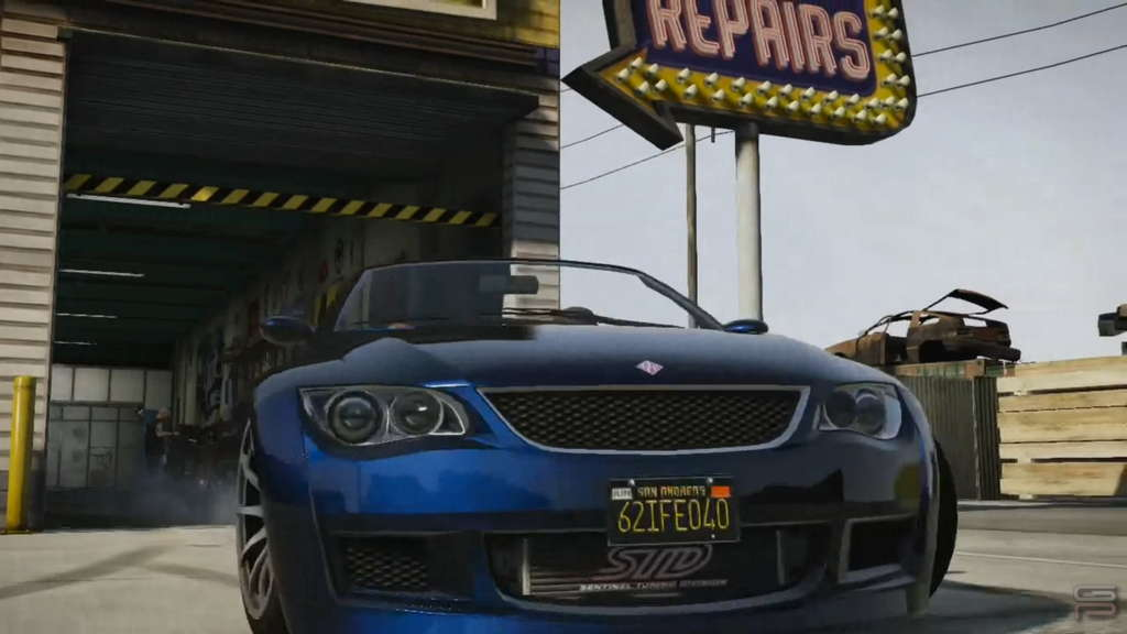 Grand Theft Auto V Gameplay Analysis car