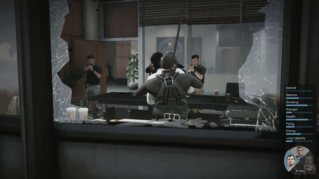 Grand Theft Auto V Gameplay Analysis changing characters