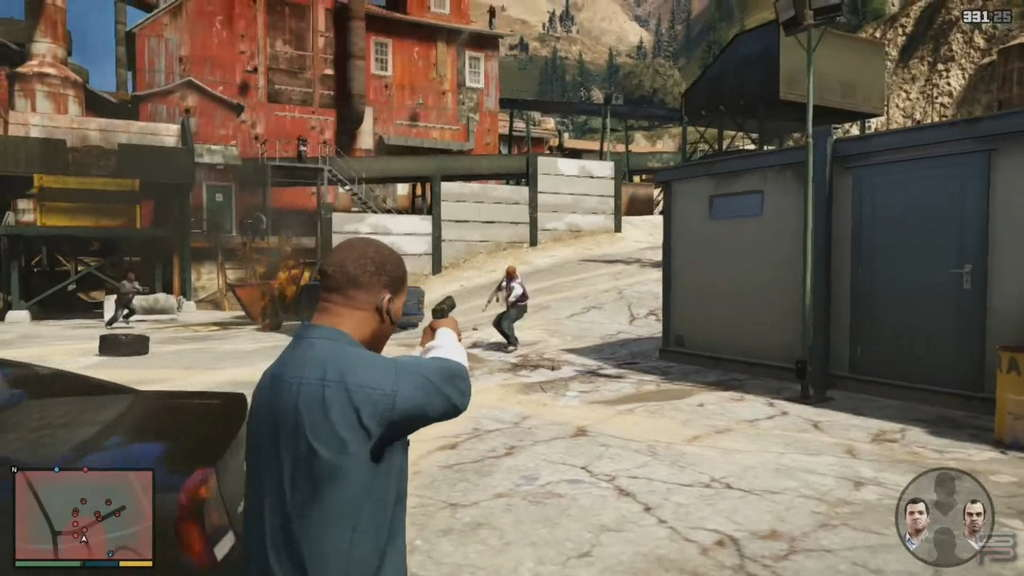 Grand Theft Auto V Gameplay Analysis max payne