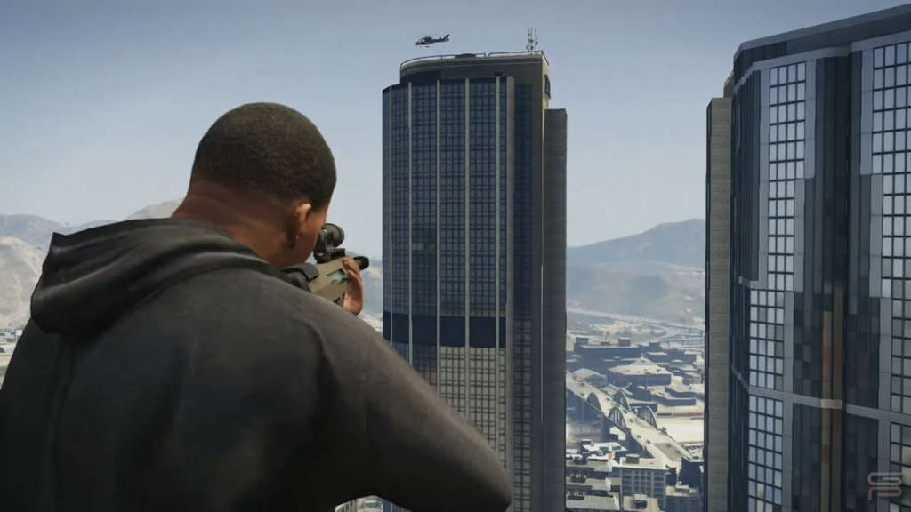 Grand Theft Auto V Gameplay Analysis shooting