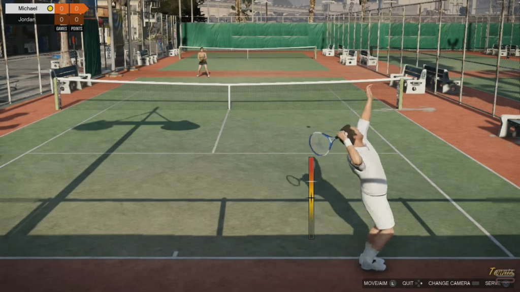 Grand Theft Auto V Gameplay Analysis tenis