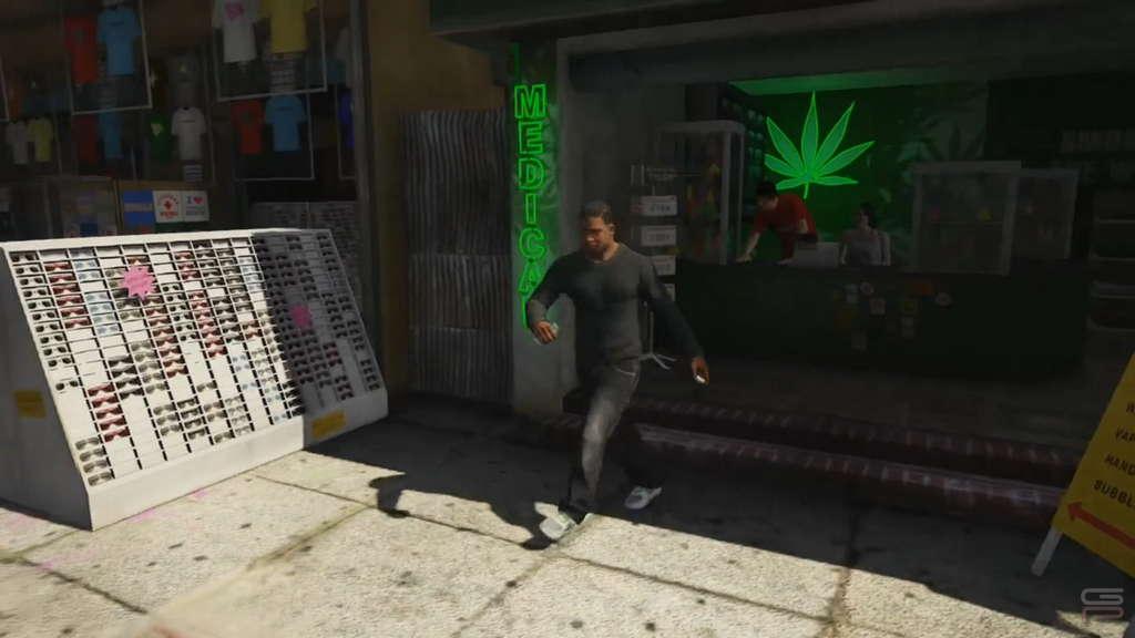 Grand Theft Auto V Gameplay franklin hush 02