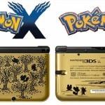 Pokémon X and Y – מהדורת 3DS XLs מוזהבת וכחולה לשוק היפני וטריילר חדש