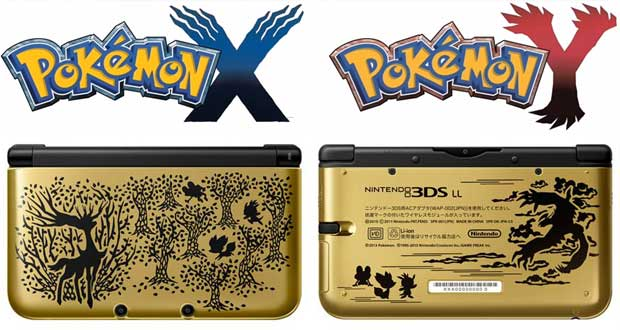 Pokémon-X-and-Y-special-edition-3DS-XLs