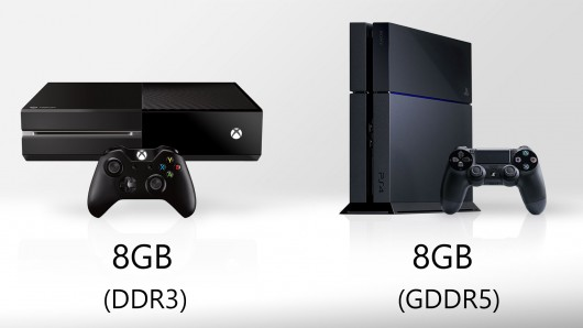 ps4-vs-xbox-one-זיכרון