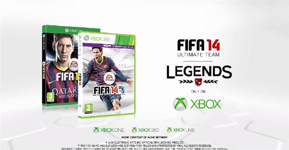 FIFA 14 אגדות כדורגל