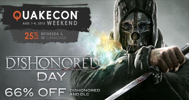 Dishonored Quakecon Steam sale