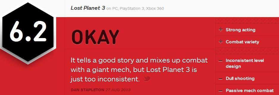 LP3 ביקורות IGN