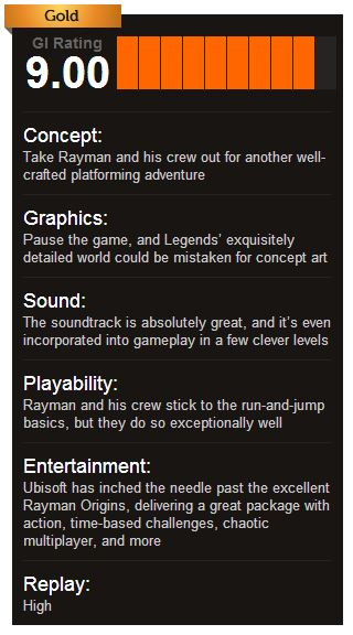 Rayman Legends ביקורת