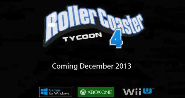 RollerCoaster Tycoon 4 הוכרז