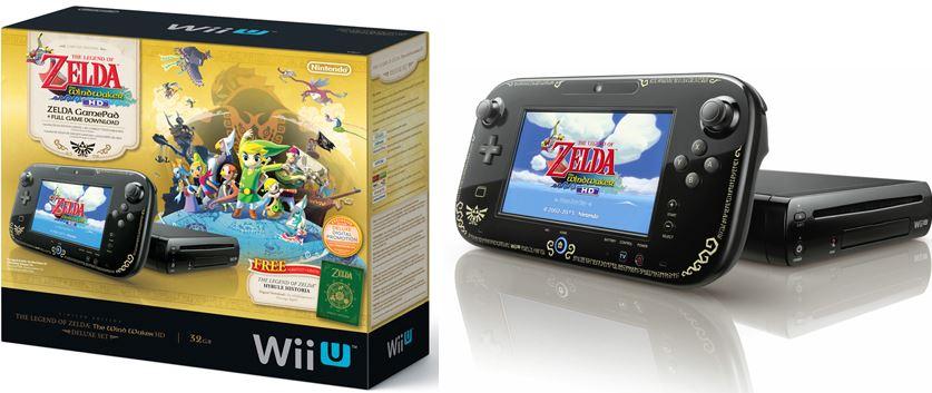 The Legend of Zelda The Wind Waker HD Bundle