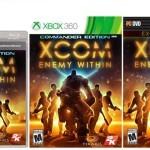 XCOM: Enemy Within עטיפה רשמית וגם גיימפליי