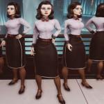 הלוק החדש של אליזבת' ב BioShock Infinite: Burial at Sea