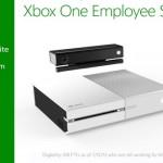 קונסולת Xbox One לבנה בחינם לעובדי מיקרוסופט