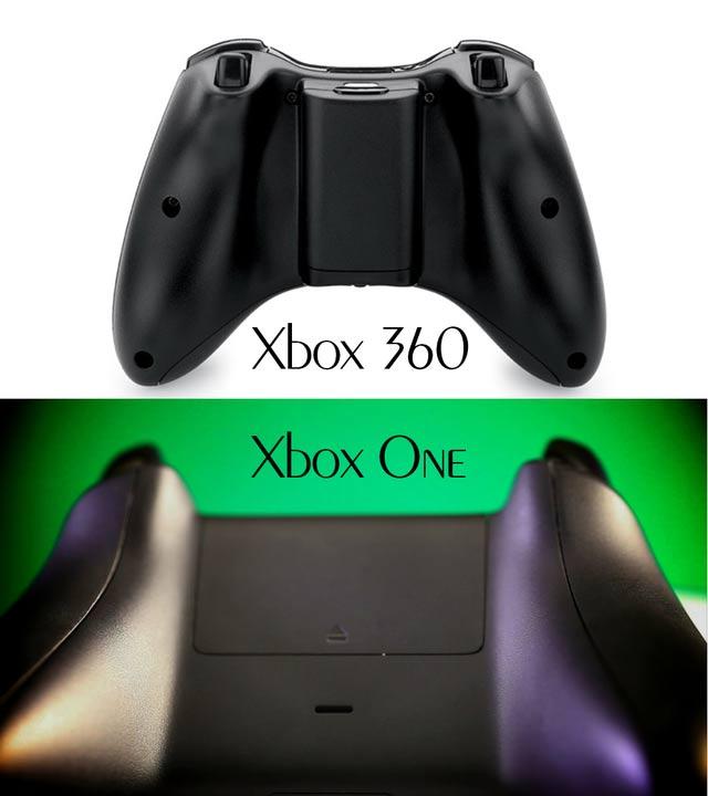 xbox-one-vs-xbox-360---controller