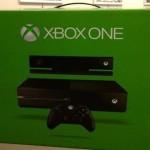 זו קונסולת ה- Xbox One הראשונה שיצאה מהמפעל