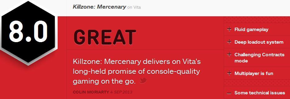 Killzone-Mercenary-ביקורת