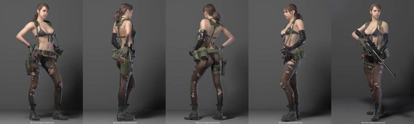 MGS5-quiet-3d-model