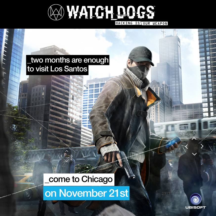 WATCH DOGS Two months are enough to visit Los Santos