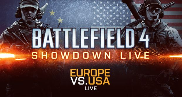 Battlefield 4 Showdown Live – Europe vs USA