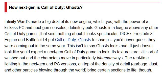 GHOSTS IGN