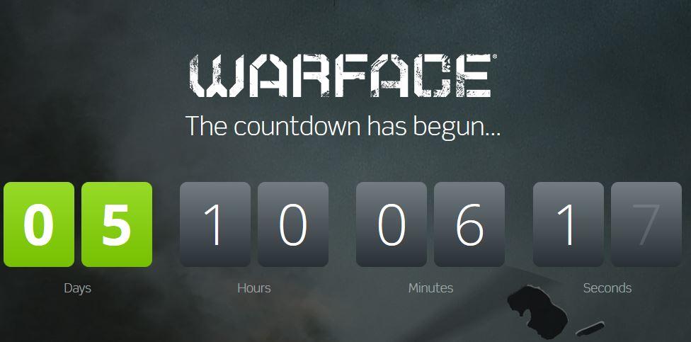WARFACE השקת המשחק