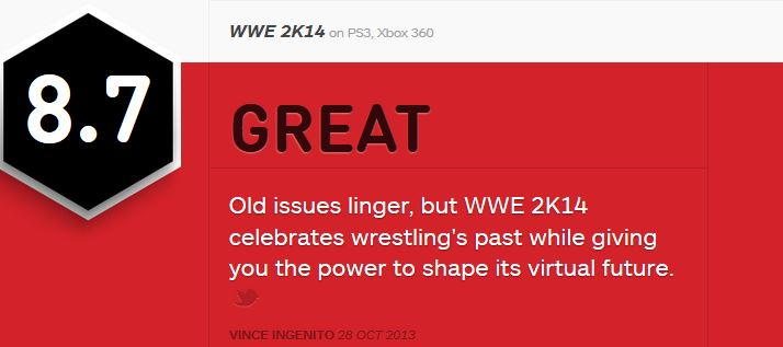 WWE 2K14 ביקורות