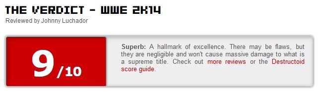 WWE 2K14 ביקורת