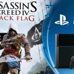 הוכרז הבאנדל של PS4  שכולל את Assassin's Creed IV