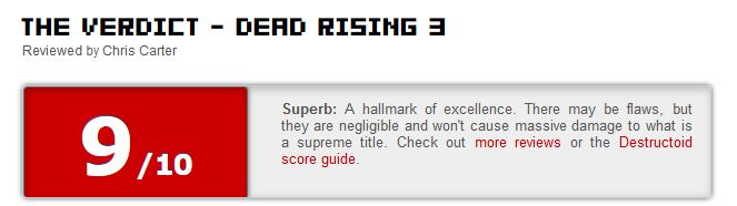 Dead Rising 3  reviews