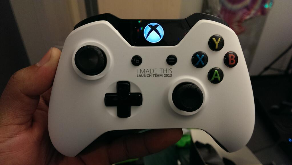Exclusive White Xbox One Controller