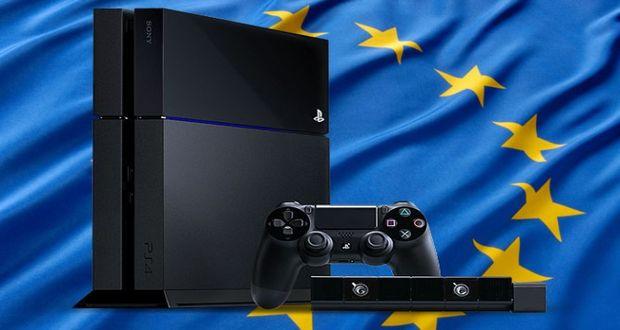 PS4 באירופה השקה