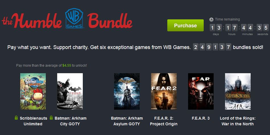 The Humble WB Games Bundle