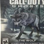 הזאב מגיע ל CoD: Ghosts?