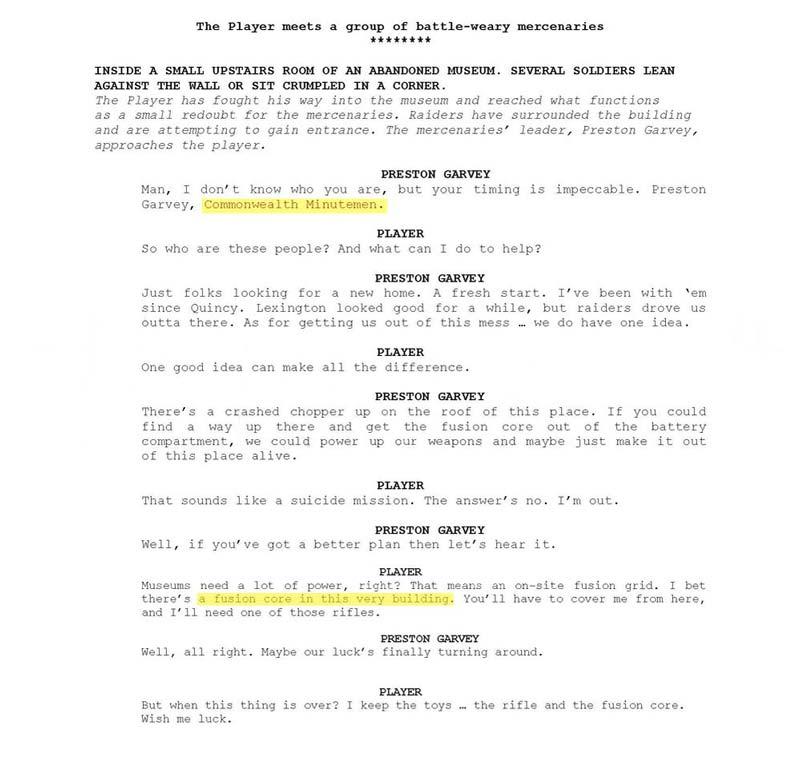 פולאאוט-4-מסמכי-תסריטאות