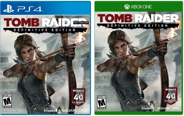 Tomb Raider Definitive Edition for a January 28 launch