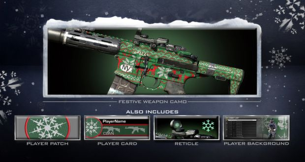 Weapon Gun DLC GHOSTS