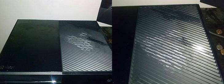 Xbox-One-Consoles-Leaking-White-Fluid