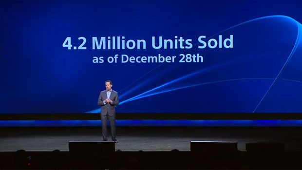 PS4 4.2 UNITS SOLD