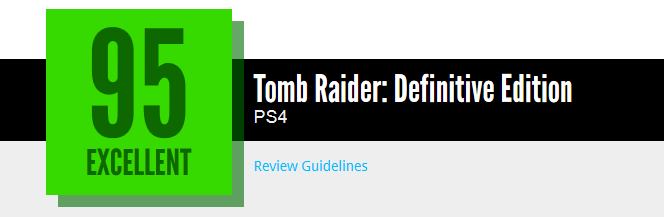 Tomb Raider Definitive Edition reviews