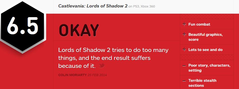Castlevania - Lords of Shadow 2 סיקור