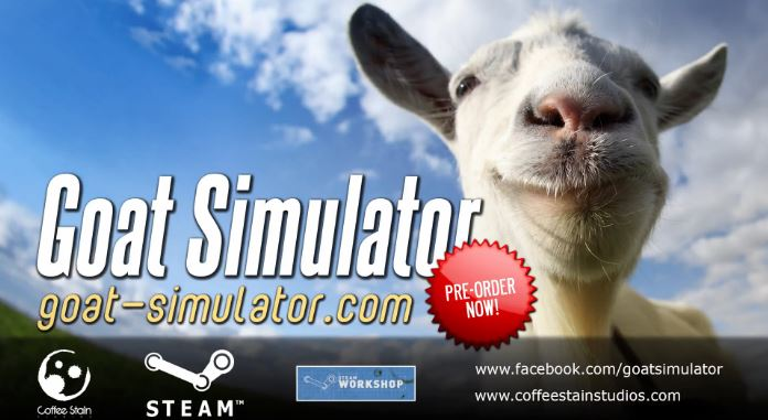Goat Simulator coming on Steam