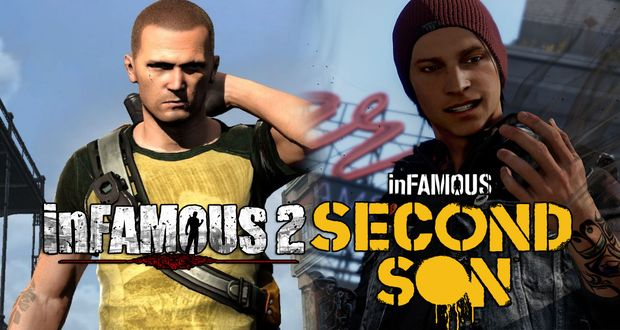 Infamous 2 vs. Infamous Second Son