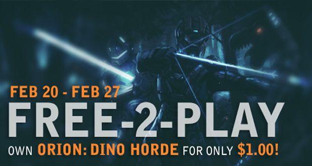 Orion Dino Horde בחינם