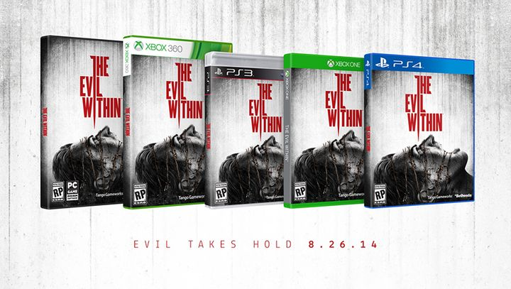 The Evil Within עטיפת משחק.
