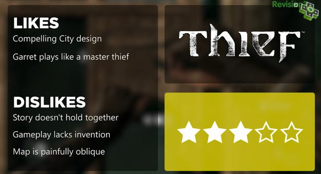 Thief review אדם ססלר