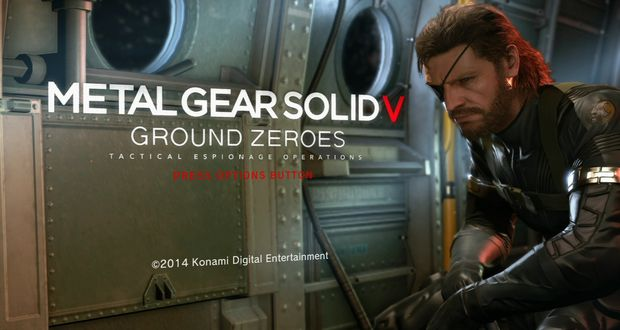 Metal Gear Solid V Ground Zeroes Launch Trailer