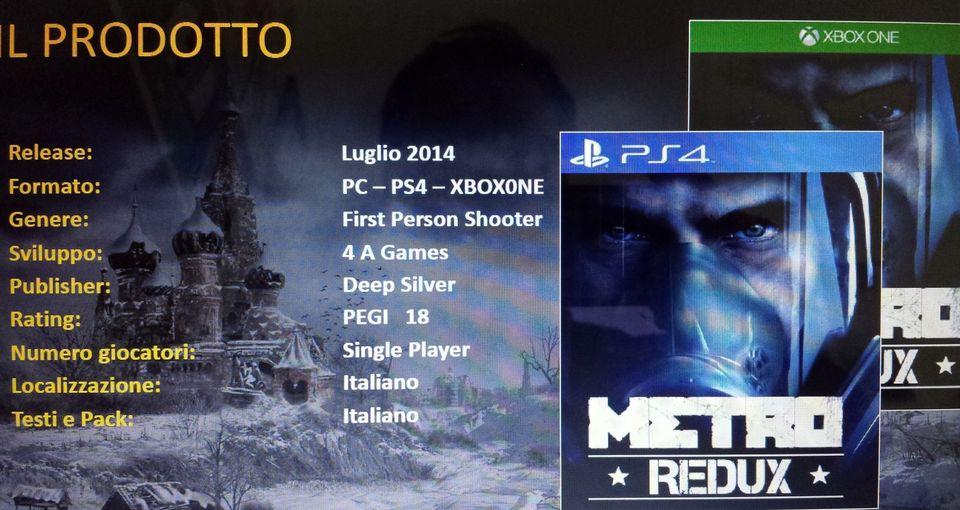 PS4 XONE-metro-redux