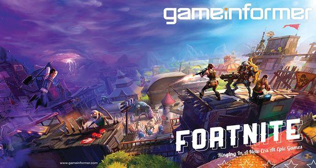 Game Informer May Cover Revealed Fortnite